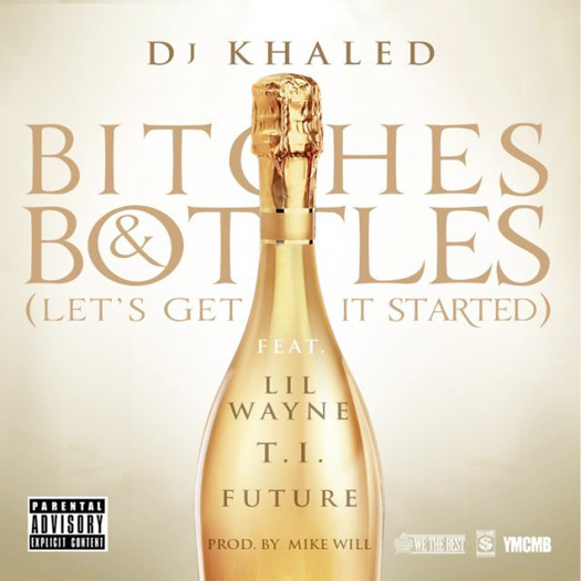 DJ Khaled Bitches & Bottles Feat Lil Wayne, T.I. & Future