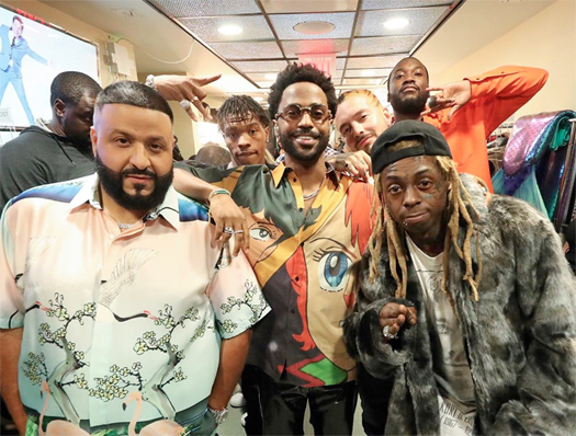 DJ Khaled Brings Out Lil Wayne & Big Sean To Perform Jealous Live On SNL