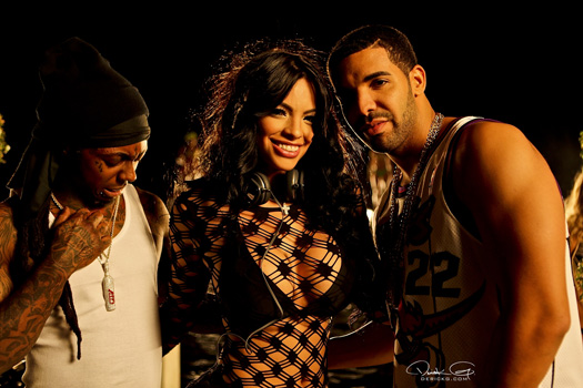 Behind The Scenes Of DJ Khaled, Lil Wayne, Drake & Rick Ross No New Friends Video Shoot