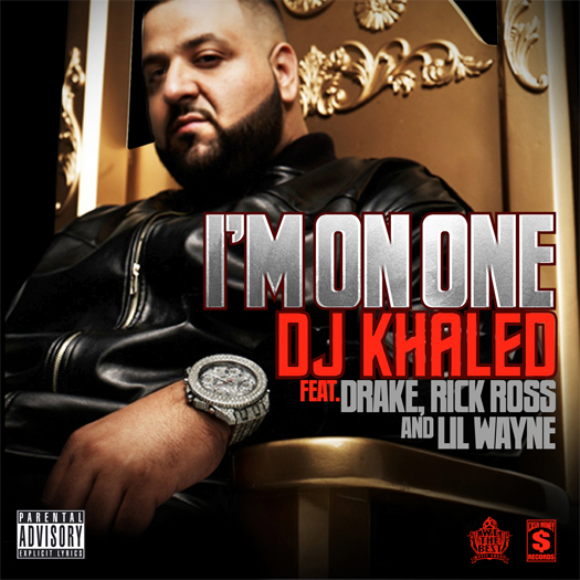 Lil Wayne On Fire Album Cover. DJ Khaled grabs Lil Wayne,