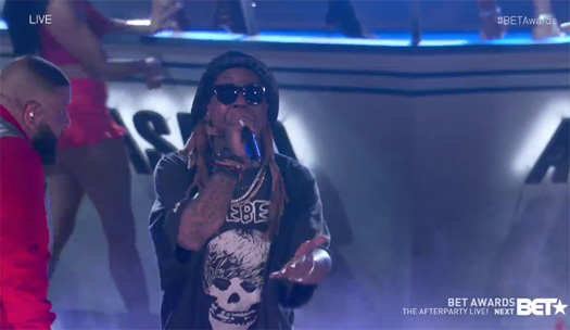 DJ Khaled, Lil Wayne, Chance The Rapper & Quavo Perform Im The One Live At The 2017 BET Awards