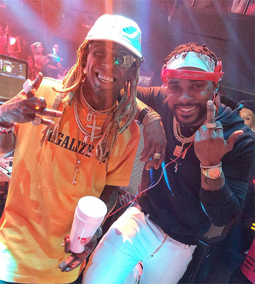 Lil Wayne & 2 Chainz Perform Live Together At LIV In Miami