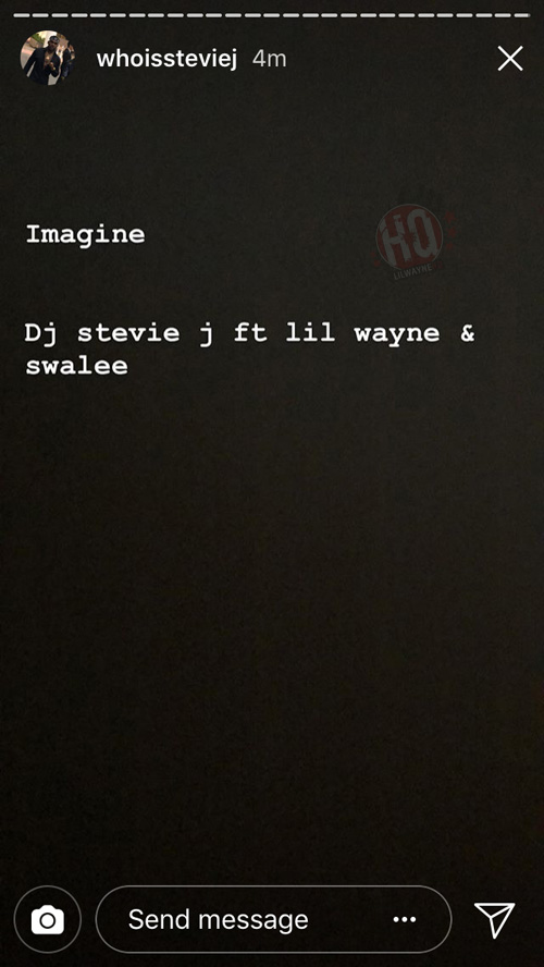 DJ Stevie J Announces Imagine Single Featuring Lil Wayne & Swae Lee