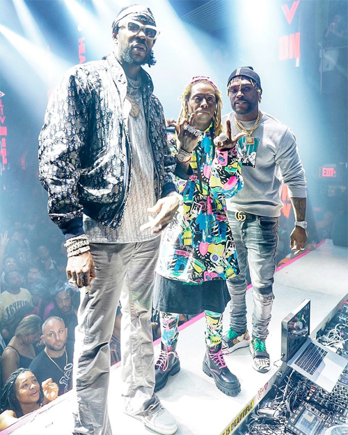 DJ Stevie J Plays His Go Go Dancer Featuring Lil Wayne & Swae Lee On Instagram Live