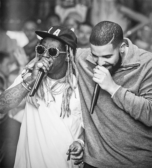 Drake Says Lil Wayne Is In His Top 5 Favorite Rappers Of All Time List