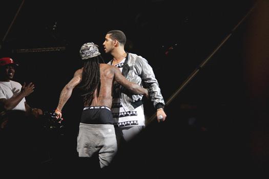 Drake Brings Out Lil Wayne At 2013 OVO Festival