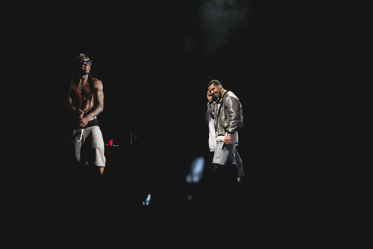 Drake Brings Out Lil Wayne At 2013 OVO Festival