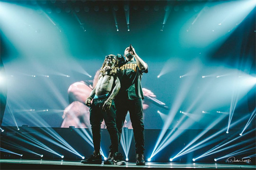 Drake Brings Out Lil Wayne In Miami To Perform Wasted, Calls Him Legendary