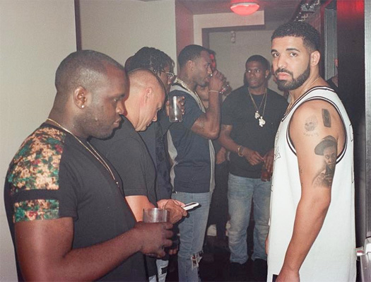 Drake Tattoos A Portrait Of Lil Wayne On His Tricep