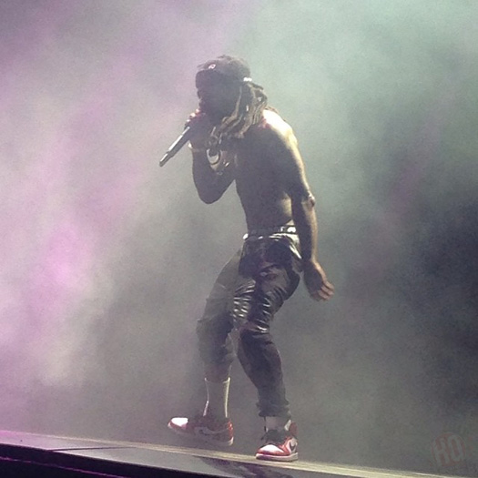 The Drake vs Lil Wayne Tour Stops In Tinley Park Illinois