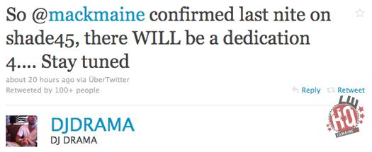 There Will Be A Lil Wayne & DJ Drama Dedication 4 Mixtape