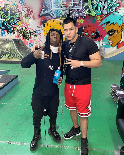 Edgar Berlanga Wants Lil Wayne To Record A Song For Him & Tells The Story Of How They Connected Real Fast