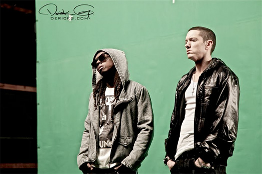 Lil Wayne & Eminem Talk Googling Their Own Lyrics To Make Sure They Don't Repeat Them + More