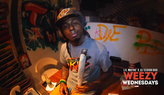 Lil Wayne Smoking Colorful Weed Episode 8 Of Lil Wayne...