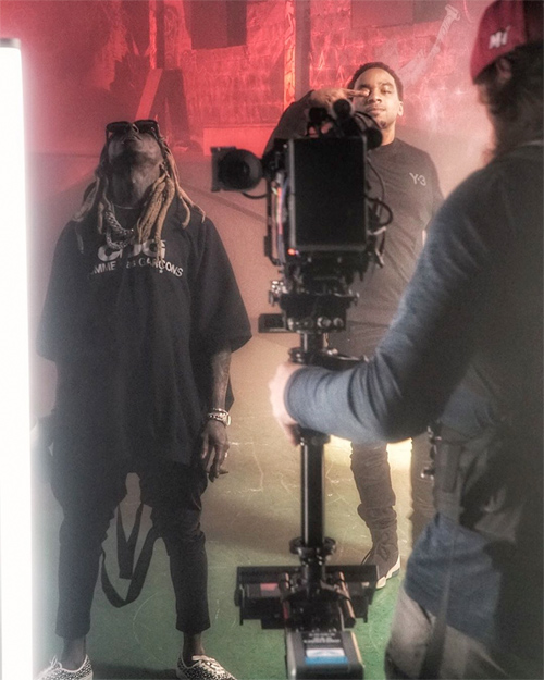 Euro & Lil Wayne Shoot A Music Video For Upcoming Crazy Single