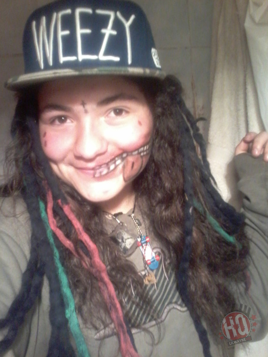 Photos Of Fans Who Dressed Up As Lil Wayne For 2015 Halloween