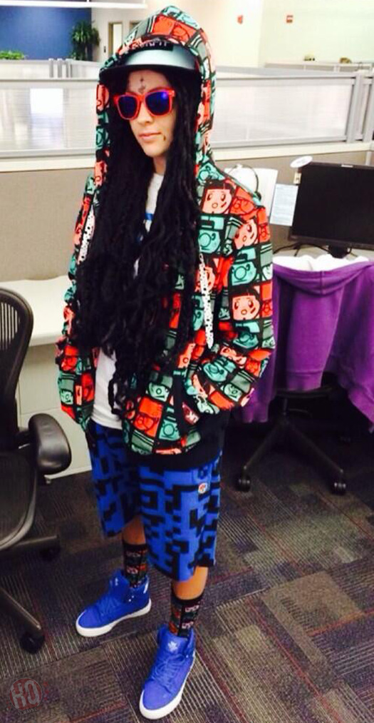 Fans Dress Up As Lil Wayne For Halloween