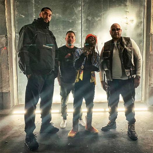 Fat Joe, Lil Wayne & Dre Shoot A New Music Video In Miami