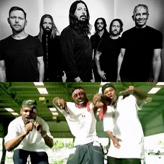 Foo Fighters Reveal They Used To Listen To Juvenile, Lil Wayne & Mannie Fresh Back That Thang Up Before Shows