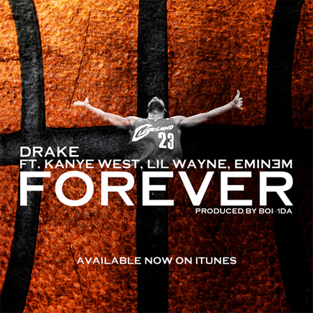 Drake, Lil Wayne, Kanye West & Eminem Forever Single Goes Sextuple Platinum