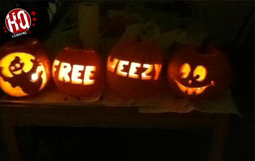 Lil Wayne Free Weezy Pumpkin
