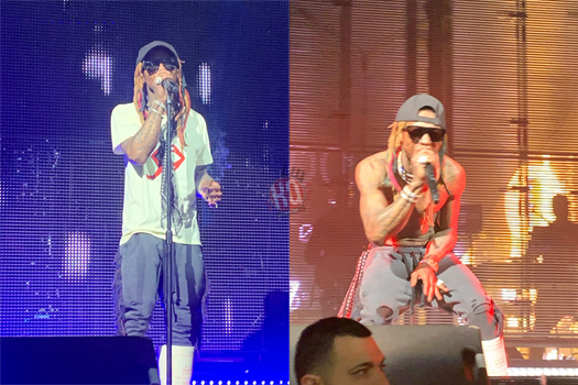 Front Row Footage Of Lil Wayne Performing Live At The House Of Blues In Houston