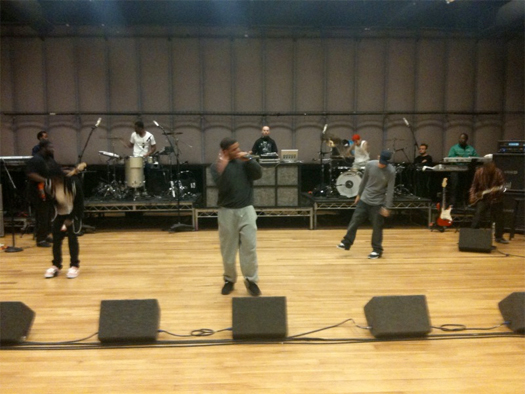Lil Wayne x Drake x Eminem Rehearse For The Grammy Awards
