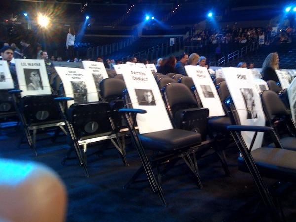 Lil Wayne The Grammys Seat 2010