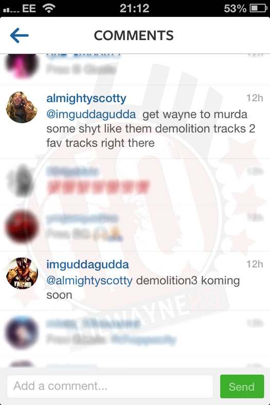 Gudda Gudda Hints At A Demolition Part 3 Collaboration With Lil Wayne, Confirms He Is On Tha Carter 5
