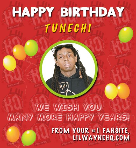 Happy 34th Birthday Lil Wayne