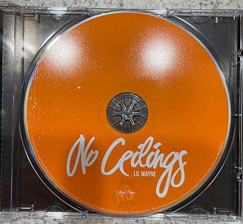 Inside Look At The Physical Copy Of Lil Wayne No Ceilings