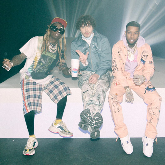 Jack Harlow Whats Poppin Remix Debuts At Number 2, Lil Wayne Earns 25th Top 10 Hit