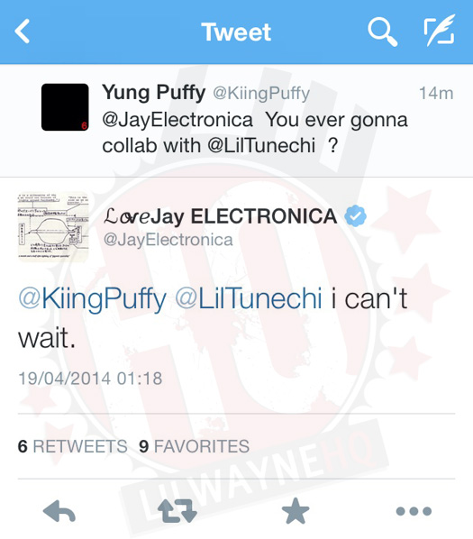 Jay Electronica Cant Wait To Work With Lil Wayne