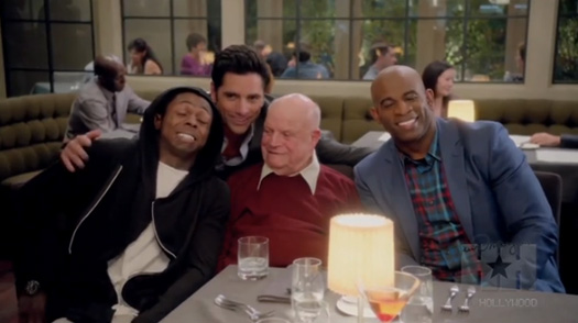 John Stamos Discusses Working With Lil Wayne On The Grandfathered TV Show