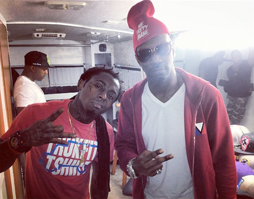 Juicy J & Lil Wayne Have A New Collaboration On Gas Face