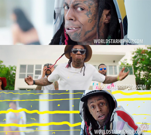 Juicy J Miss Mary Mack Feat Lil Wayne & August Alsina Music Video
