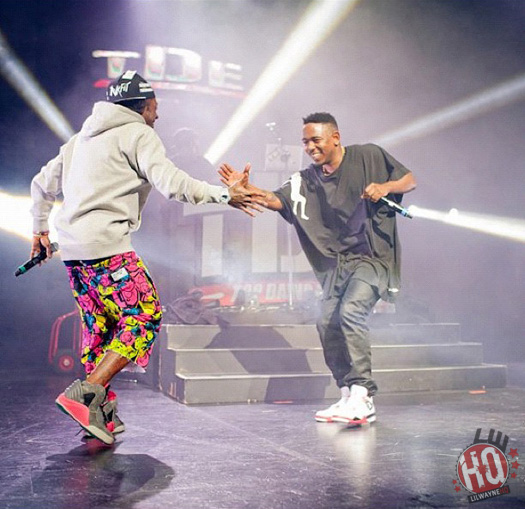 Kendrick Lamar Gives Lil Wayne A Shout Out For Being An Influential Music Artist