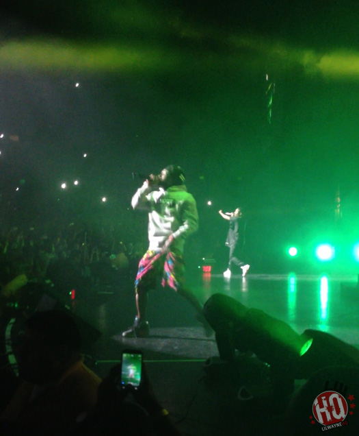 Kendrick Lamar & Lil Wayne Perform At The 2012 Cali Christmas Show