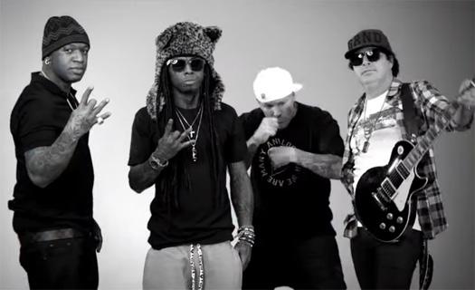 Kevin Rudolf Champions Feat Lil Wayne, Fred Durst & Birdman Music Video