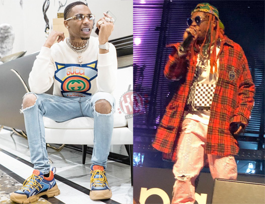 Key Glock Jams Out & Raps Along To Ride For My Niggas, Calls Lil Wayne His Favorite Rapper