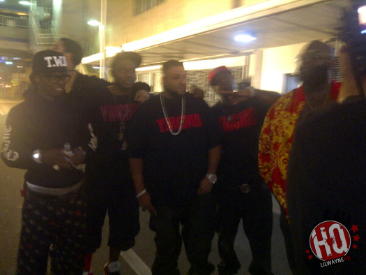 Pictures Of DJ Khaled Shooting A Music Video For Im On One