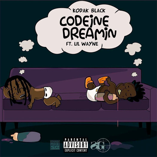 Kodak Black Codeine Dreamin Feat Lil Wayne