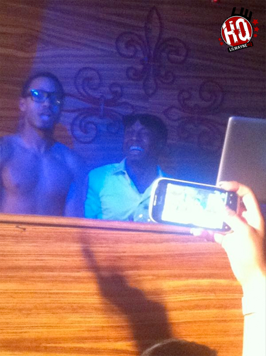 Lil Wayne At Dream Nightclub For Lil Twists Birthday Celebration