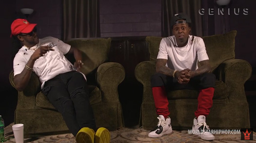 Lil Wayne & 2 Chainz Chat About Their Favorite Sneakers