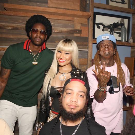 Lil Wayne & 2 Chainz Host BET Awards After Party In Los Angeles With Nicki Minaj & Gudda Gudda