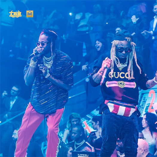Lil Wayne & 2 Chainz Perform Duffle Bag Boy & More At LIV In Miami