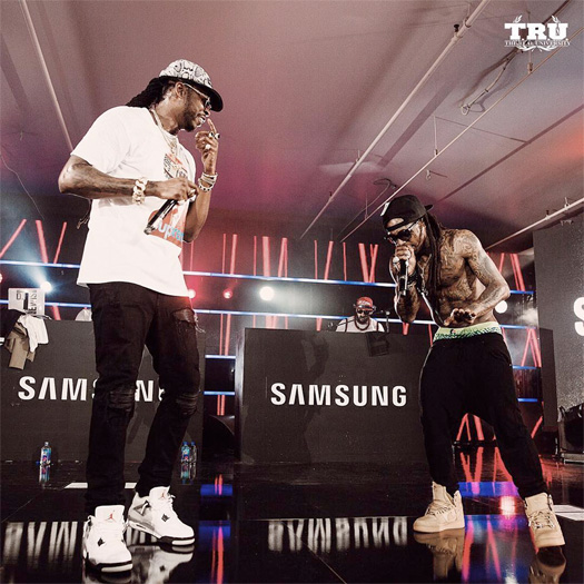 Lil Wayne & 2 Chainz Perform Gotta Lotta, Blue C-Note & More Live At Samsung Galaxy Life Fest In Austin