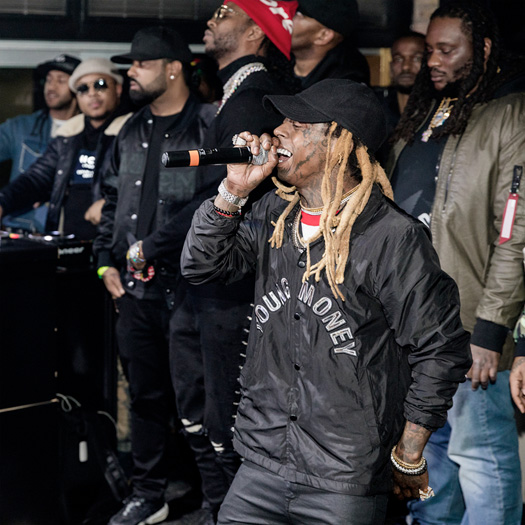 Lil Wayne & 2 Chainz Perform Live For Floyd Mayweather, Fabolous & More At Prive In Minneapolis