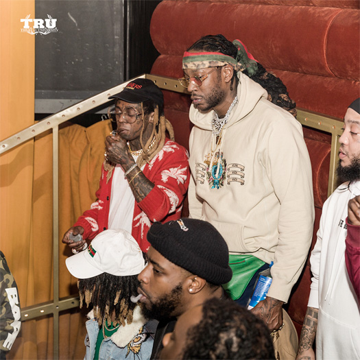 Lil Wayne & 2 Chainz Perform Its A Vibe, Land Of The Freaks, Steady Mobbin & More Songs Live Together At Nightingale Plaza Over NBA All Star Weekend