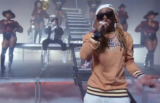 Lil Wayne & 2 Chainz Perform Money Maker At The 2020 BET Hip Hop Awards